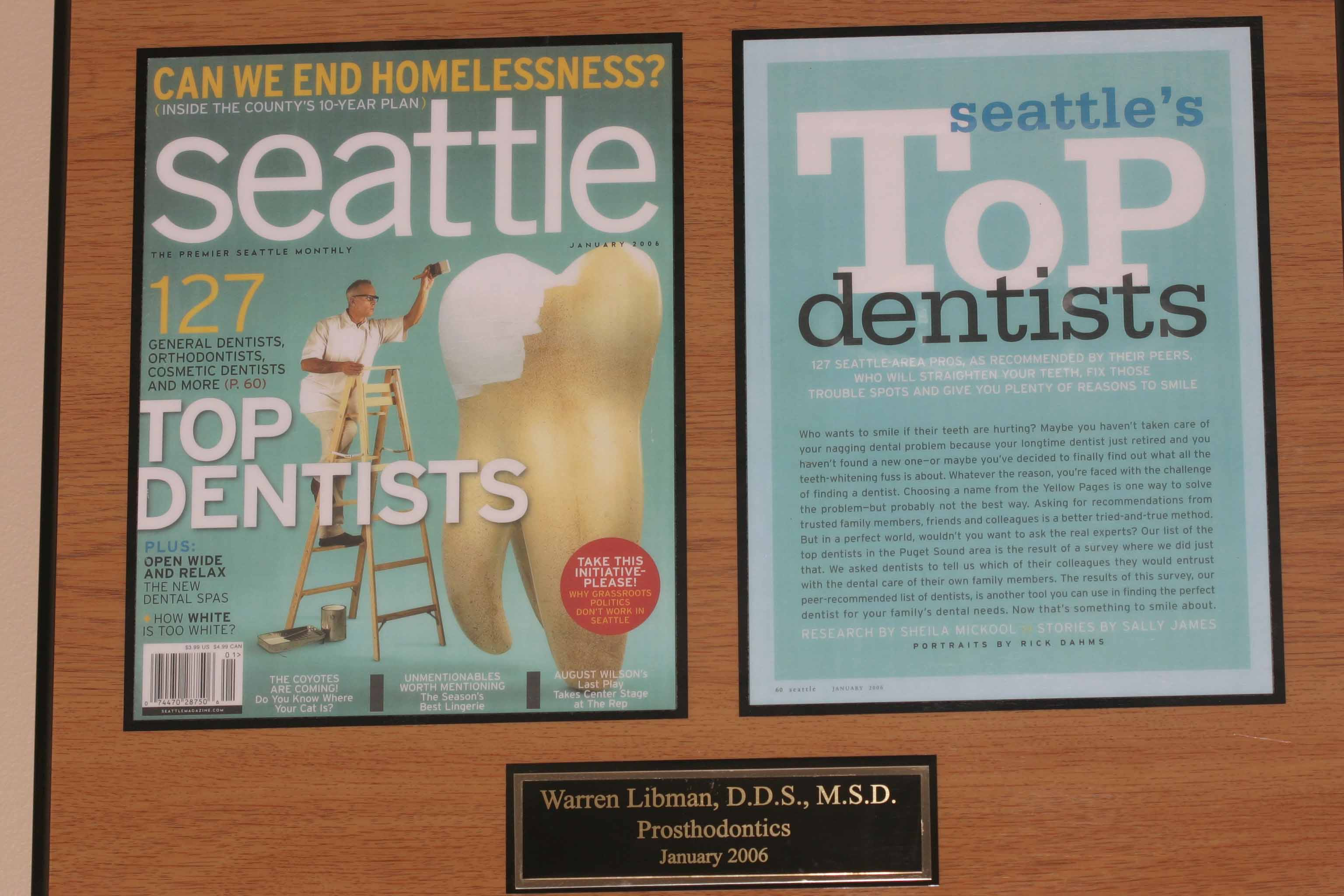 Seattle Top Dentists