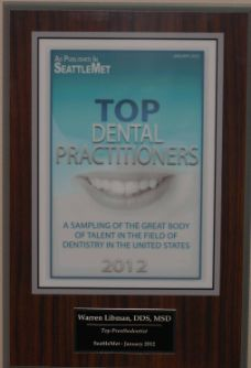 Top Dental Practitioners 2012