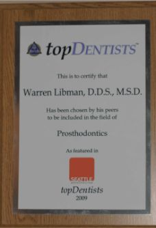 Top Dentists 2009